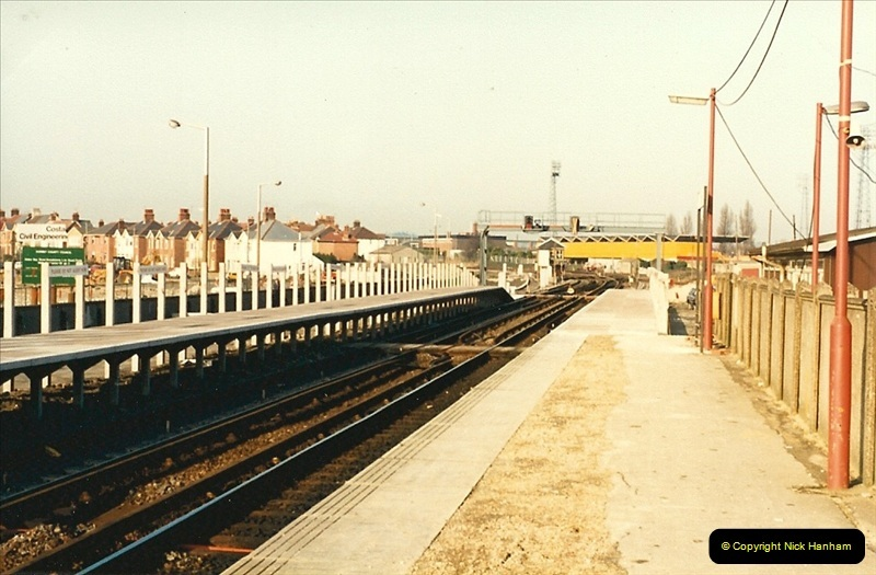 1988-02-15 The New Poole station takes shape.  (3)0462
