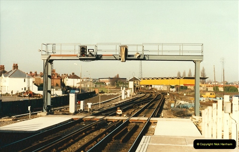 1988-02-15 The New Poole station takes shape.  (4)0463