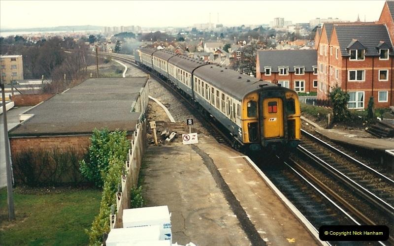 1988-02-18 Branksome & Parkstone, Poole, Dorset.  (6)0481