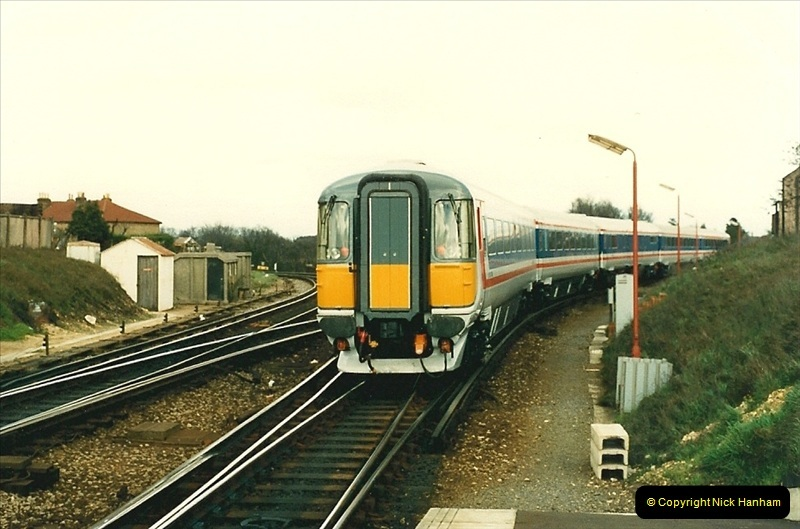 1988-03-25 Arrivals for Bournemouth Depot open day. Branksome, Poole, Dorset.  (10)0514