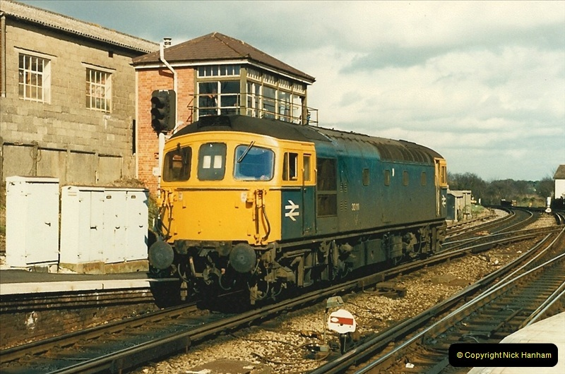 1988-03-25 Arrivals for Bournemouth Depot open day. Branksome, Poole, Dorset.  (13)0517