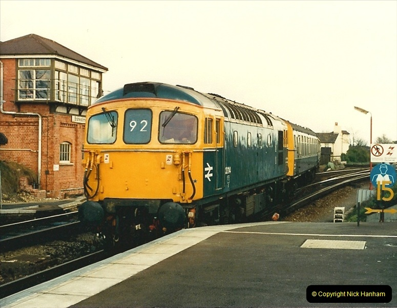 1988-03-25 Arrivals for Bournemouth Depot open day. Branksome, Poole, Dorset.  (15)0519