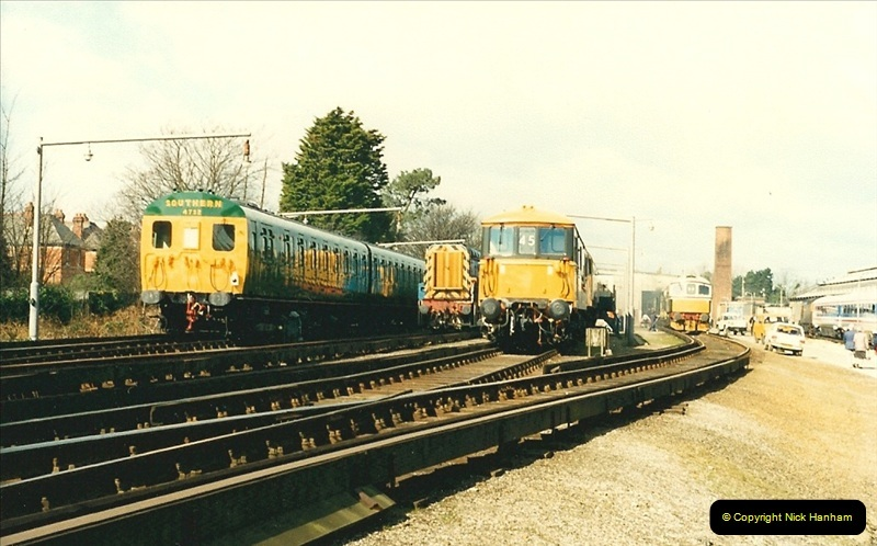1988-03-26 Bournemouth Depot open day.  (3)0549