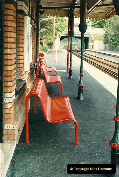 1988-05-13 Parkstone station refurbishment now completed (3)0596