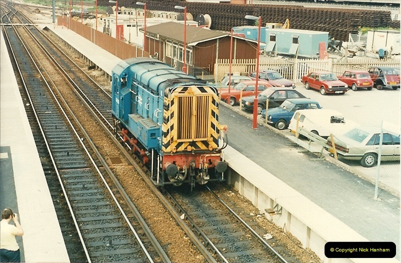1988-05-13 Poole station refurbishment and last of the Push & Pull workings (2)0603