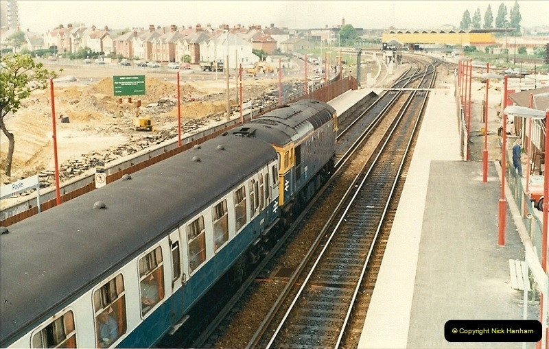 1988-05-13 Poole station refurbishment and last of the Push & Pull workings (4)0605