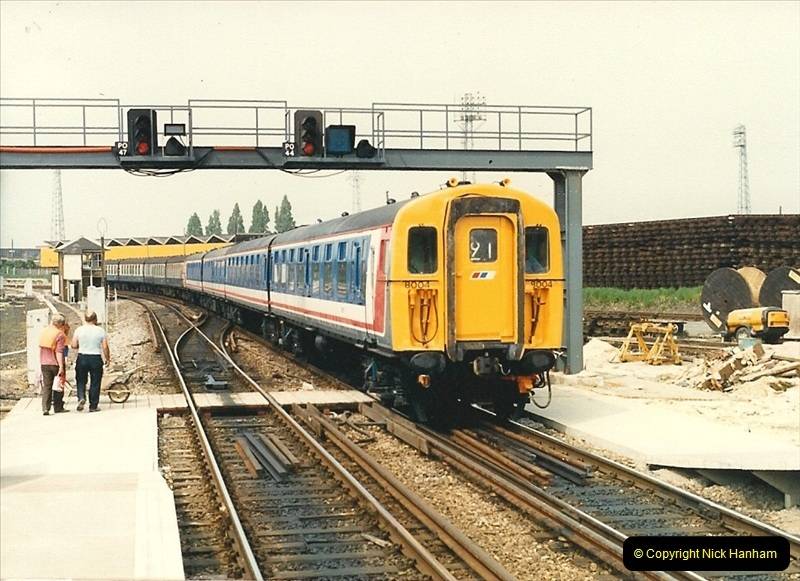 1988-05-13 Poole station refurbishment and last of the Push & Pull workings (5)0606