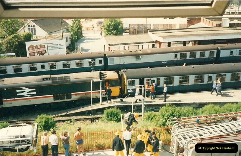 1988-05-17 73111 catches fire @ Bournemouth.  (3)0632