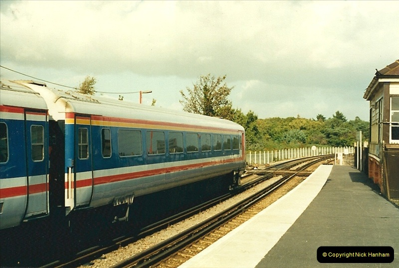 1988-10-12 Hamworthy Junction, Poole, Dorset.  (1)0667