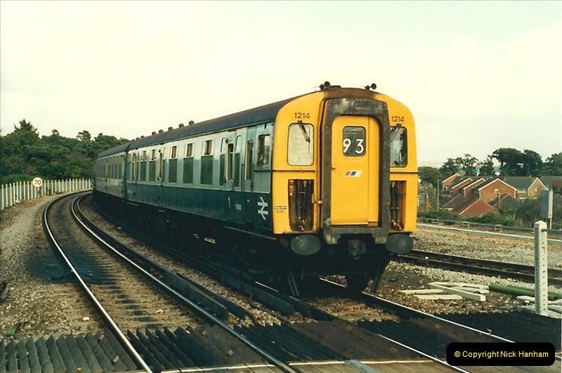 1988-10-12 Hamworthy Junction, Poole, Dorset.  (2)0668
