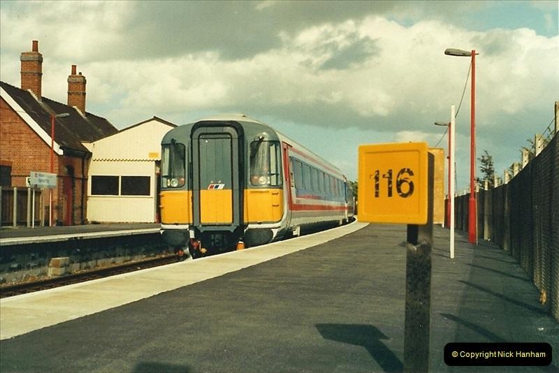 1988-10-12 Hamworthy Junction, Poole, Dorset.  (3)0669