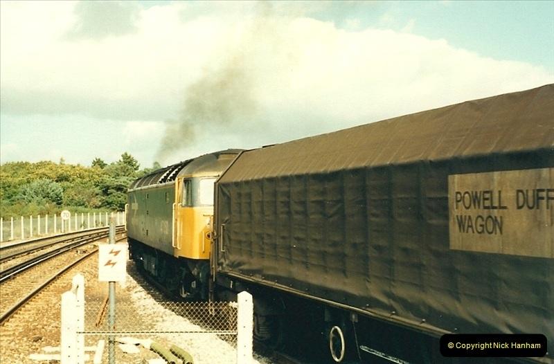 1988-10-12 Hamworthy Junction, Poole, Dorset.  (4)0670