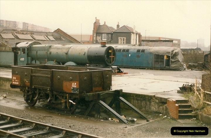 1986-02-01 Bristol Temple Meads.  (2)0002