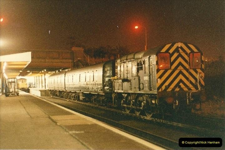 1986-03-06 Southampton Central.  (4)0060