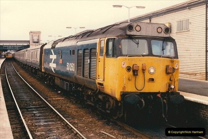1986-03-24 Exeter St. Davids.  (9)0131