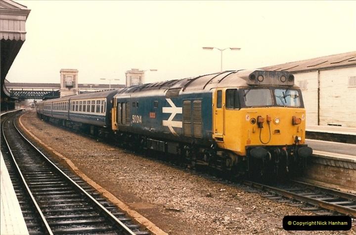 1986-03-24 Exeter St. Davids.  (12)0134