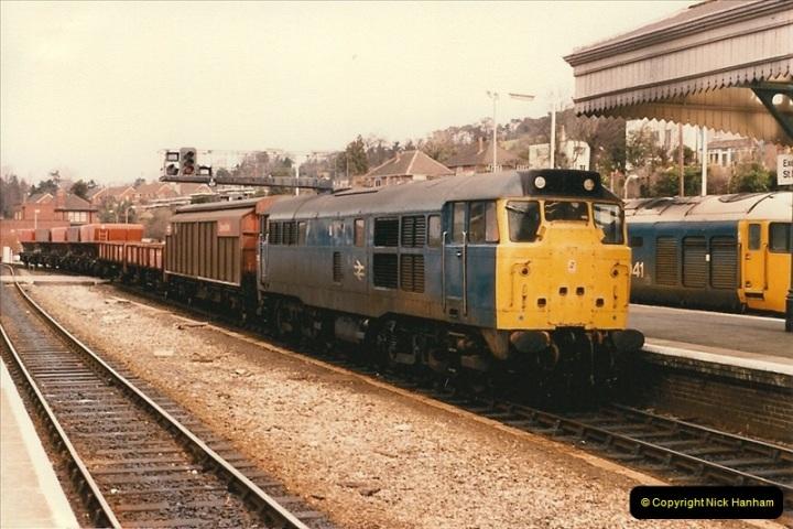1986-03-24 Exeter St. Davids.  (13)0135