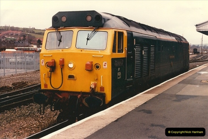 1986-03-24 Exeter St. Davids.  (18)0140