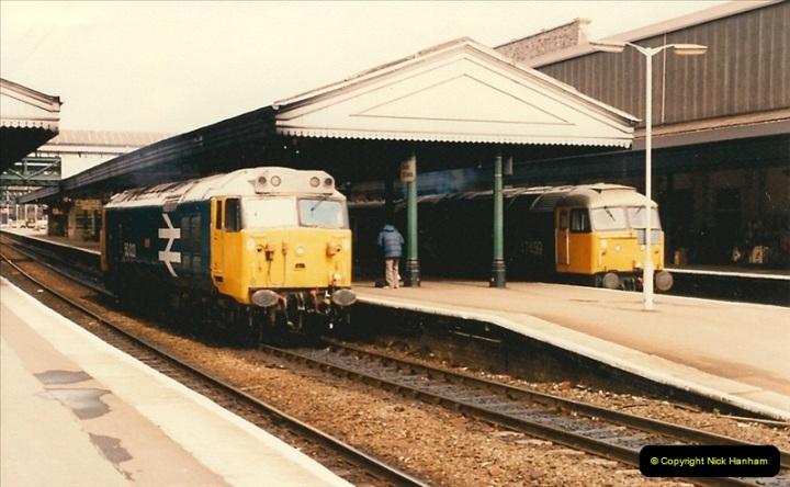 1986-03-24 Exeter St. Davids.  (19)0141