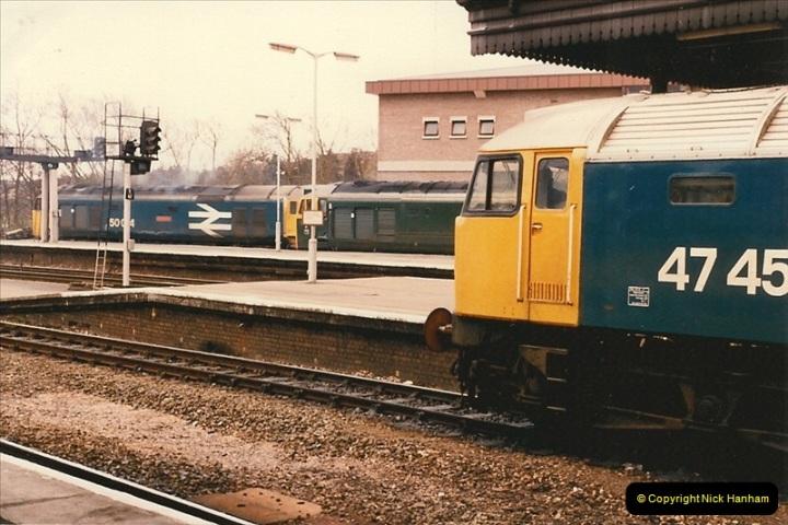 1986-03-24 Exeter St. Davids.  (20)0142