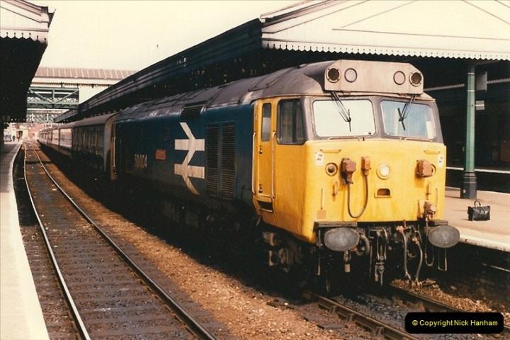 1986-03-24 Exeter St. Davids.  (25)0147