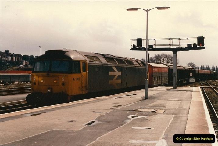 1986-03-24 Exeter St. Davids.  (27)0149