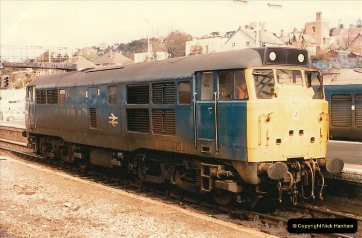 1986-03-24 Exeter St. Davids.  (28)0150