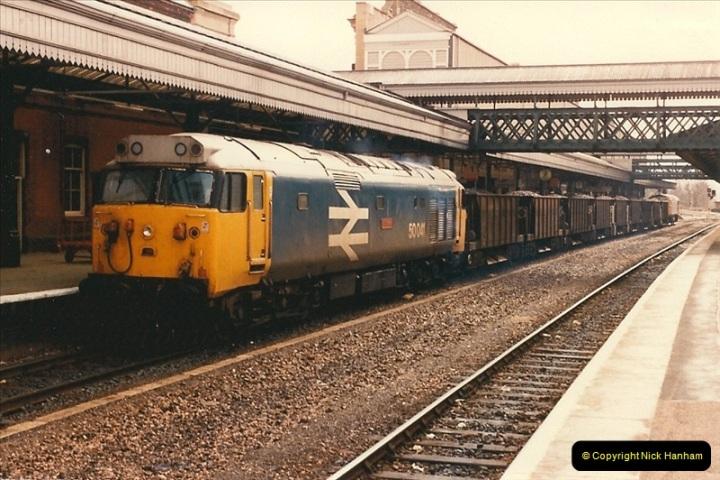 1986-03-24 Exeter St. Davids.  (30)0152