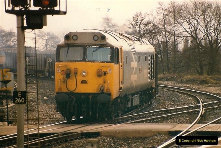 1986-03-24 Exeter St. Davids.  (31)0153