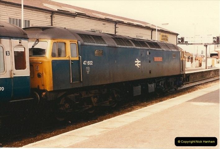 1986-03-24 Exeter St. Davids.  (33)0155