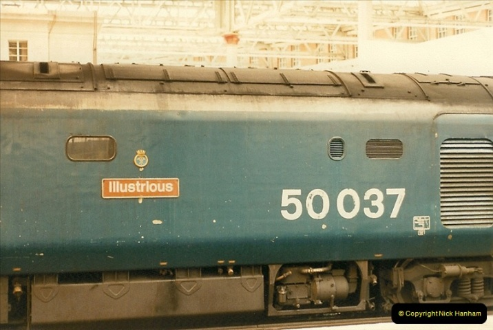 1986-06-07 Waterloo Station, London.  (3)0181