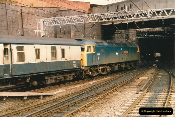 1986-09-14 Birmingham New Street.  (12)0230