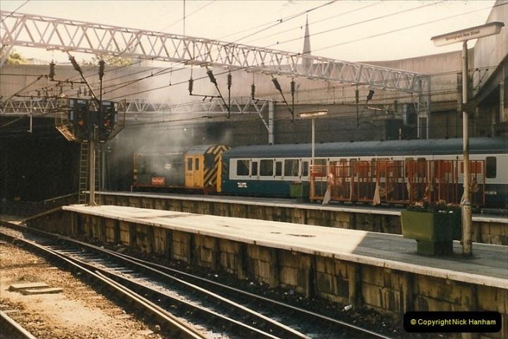 1986-09-14 Birmingham New Street. (26)0244