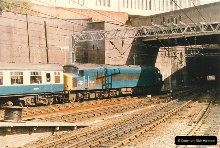 1986-09-14 Birmingham New Street. (27)0245