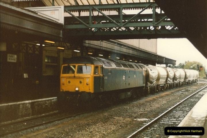 1986-10-27 Exeter St. Davids, Devon.  (10)0303