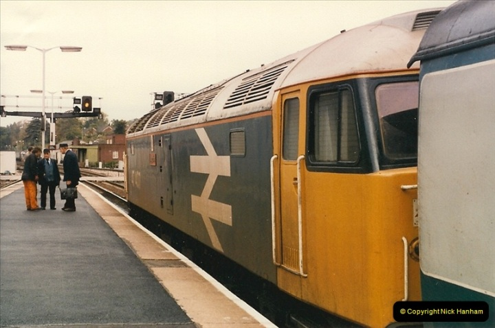 1986-10-27 Exeter St. Davids, Devon.  (17)0310