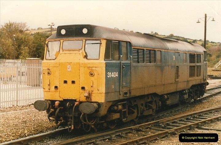 1986-10-27 Exeter St. Davids, Devon.  (22)0315