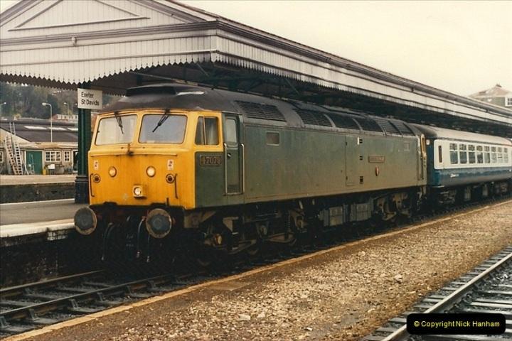 1986-10-30 Exeter St. Davids, Devon.  (5)0344