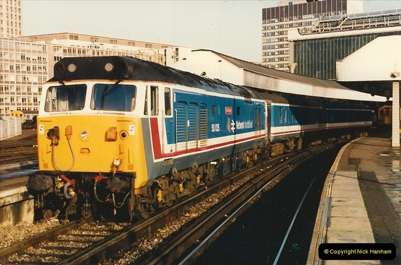 1986-11-22 Network Day @ Waterloo Station, London.   (2)0371