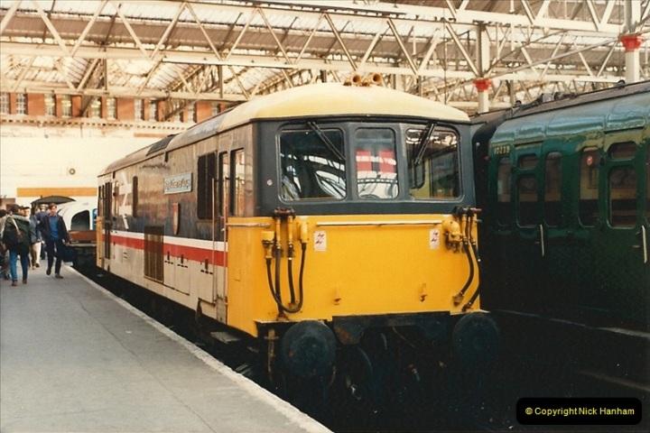 1986-11-22 Network Day @ Waterloo Station, London.   (7)0376