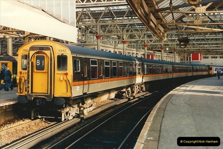 1986-11-22 Network Day @ Waterloo Station, London.   (11)0380