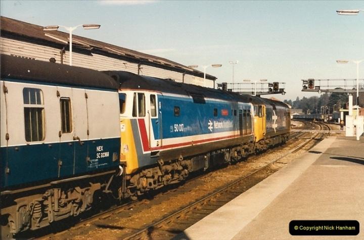 1987-02-21 Exeter St. Davids, Devon.  (3)0394