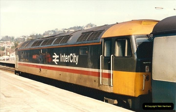 1987-02-21 Exeter St. Davids, Devon.  (5)0396