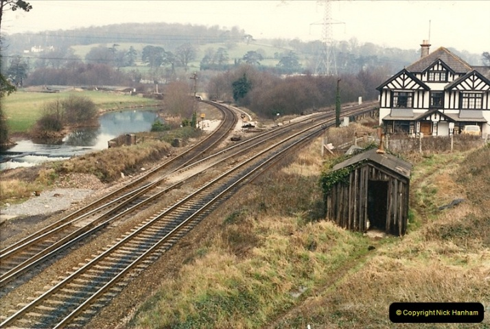 1987-02-22 Cowley Bridge Junction, Exeter, Devon.  (1)0415