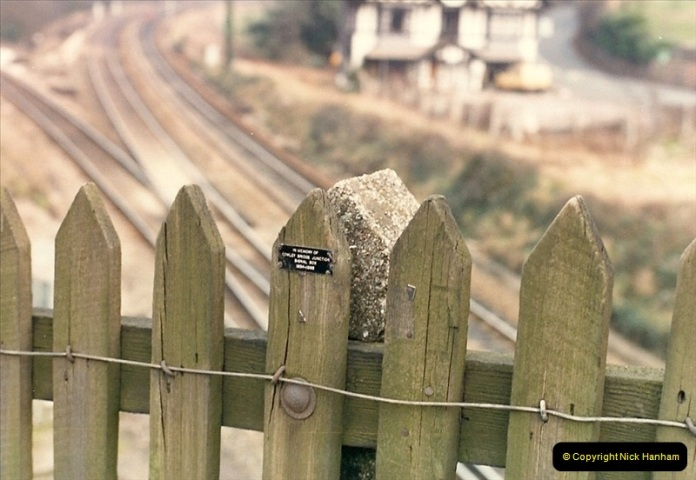 1987-02-22 Cowley Bridge Junction, Exeter, Devon.  (2)0416