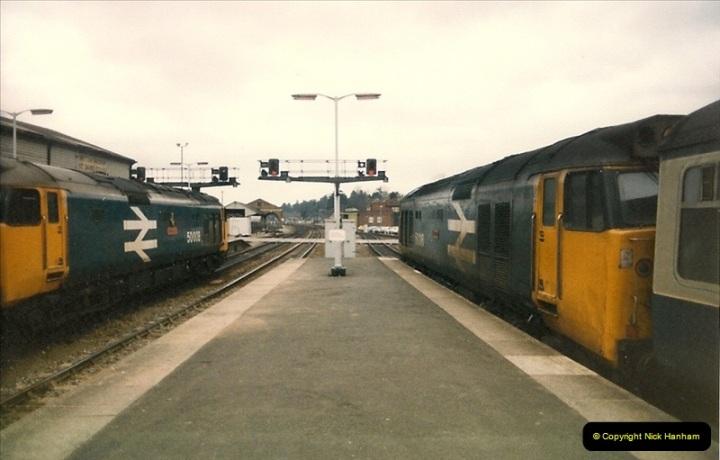 1987-02-23 Exeter St. Davids, Exeter, Devon.  (8)0436