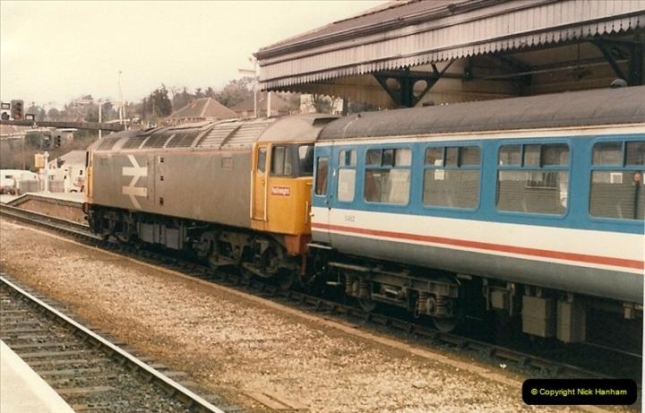 1987-02-23 Exeter St. Davids, Exeter, Devon.  (11)0439