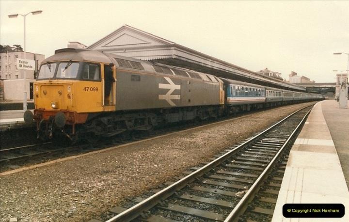 1987-02-23 Exeter St. Davids, Exeter, Devon.  (12)0440