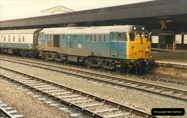 1987-05-01 Bristol Temple Meads, Bristol.  (2)0502