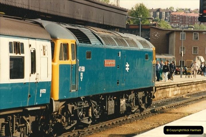 1987-05-02 Bristol Temple Meads, Bristol.  (34)0540